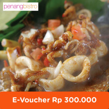 Penang Bistro - Voucher Value Rp 300.000