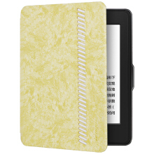 Leopard (LEIMAI) fit Kindle 558 version of the protective cover / shell new Kindle electronic paper book soft shell sleep protective sleeve style series light yellow