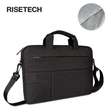 14.1inch Briefcase Messenger Laptop Bag, Multi-Functional Waterproof Carrying Case for Laptop/Notebook/MacBook/Ultrabook