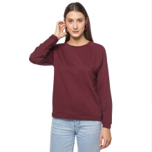 Factory Outlet Sweater Raglan - Brown