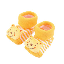 Cartoon Newborn Baby Girl Boy Anti-slip Socks-Slipper Shoes Boots 0-6 Months