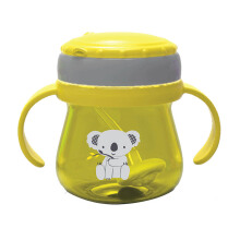BABY SAFE Cup Weighted Straw - Yellow JP019