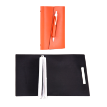 NUDESIGN Agenda with Pen + inside sheet ATB02M - Red / 20x3x13cm