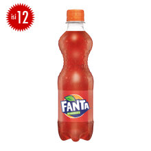 FANTA Strawberry PET Botol Carton 390ml x 12pcs