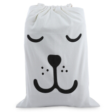Laundry Storage Canvas Bag Cute Cartoon Pattern