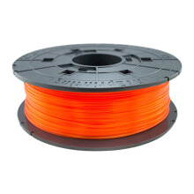 XYZ Jr.& Mini Series PLA Filament - Clear Tangerine