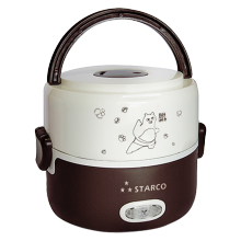 STARCO Electric Lunch Box SRC 201 Coklat