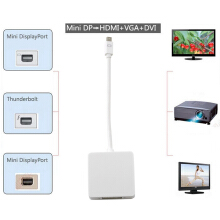 [Kingstore]MEW Mini Display Port to DVI VGA HDMI Adapter For Apple Macbook Air Pro
