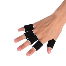 10Pcs Finger Bands Brace Support Sleeve Gym Sports Volleyball Basketball