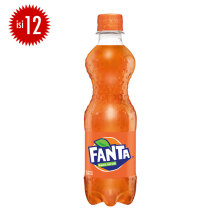 FANTA Orange PET Botol Carton 390ml x 12pcs