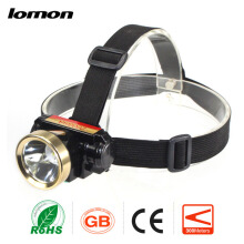 Lomon High Power LED Headlamp Long Range Headlight Super Brightest 18650 Rechargeable Battery + Charger Fishing Light Head Torch Lamp