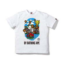 A BATHING APE Hk 11th Anniv Baby Mi - White [L] 0ZX TE M10104H 8 WHX