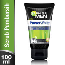 GARNIER Men Power White Scrub 100ml