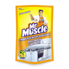 MR. MUSCLE Kitchen Lemon Pouch 400ml