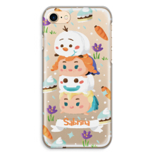 CASETOMIZE Classic Hard Case  for Apple iPhone 7 - Chubby Frozen Stacked Tsum