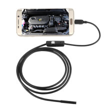 6 LED Waterproof 1M 7mm Phone Endoscope Inspection Camera For Android PC