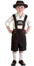 Halloween Oktoberfest Beer Boy Costume