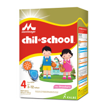 CHIL SCHOOL Susu Strawberry Box - 800gr
