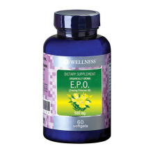 WELLNESS Evening Primrose Oil 500mg 60 Softgels (EPO)