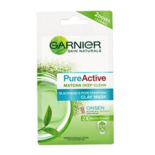 GARNIER Pure Active Matcha Mask