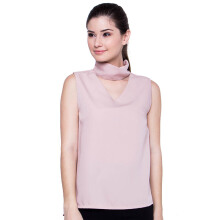FBW Rosanna Neckline Top - Pink [ALL SIZE]