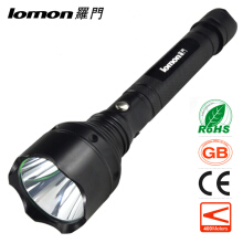 Zoomable LED Flashlight 18650 Battery + Car Charger + Charger Emergency Aluminum Alloy LED Light Hiking Hunting Fishing Cycling