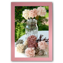THE OLIVE HOUSE - MDF Photo Frame 8R Pink