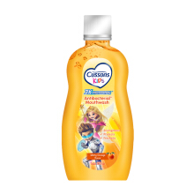Cussons Kids Antibacterial Mouthwash Minty Orange 250ml