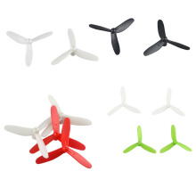 BESSKY 20PC/5Set Cheerson Upgraded 3-Leaf Propellers for CX-10 CX-10A Quadcopter - White
