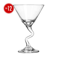 LIBBEY Gelas Kaca Z-Stem Martini set of 12 222ML - 37339