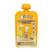 PEACHY Smoothie Mango Pasion Fruit Pouch - 100gr