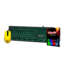 DIGITAL ALLIANCE Bundle 1 – Keyboard Black Ruby + G7 Alpha + LED Fan 12