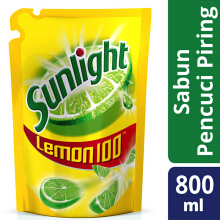 SUNLIGHT Lemon New Refill 800ml