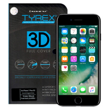 TYREX 3D Full Cover Tempered Glass for iPhone 7 Plus - Black