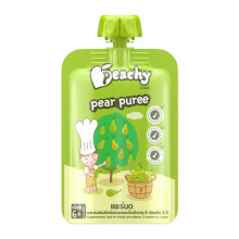 PEACHY Puree Pear Pouch - 100gr