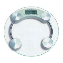 [free ongkir]STARHOME Timbangan Badan Digital Kaca Bundar 33 cm - Digital Weight Scale TIM-BDN-CRL