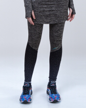 SPECS ESORRA SKIRT LEGGINGS - HEATHER BLACK [XL] 903440