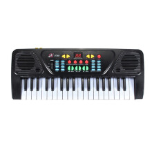 BESSKY New 37 Keys Digital Music Electronic Keyboard Key Board Gift Electric Piano Gift_ Black