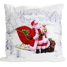 Christmas Pillowcase Soft Sofa Cushion Cover