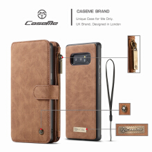 VOUNI SAMSUNG note 8  case Magnet adsorption combo wallet models drop card mobile phone holster