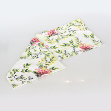 Vivere Table Runner Gardenia Twigs Green 160x32 cm