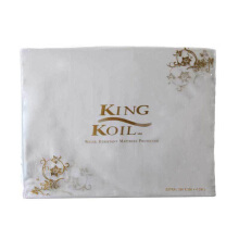 KING KOIL Accessories Mattress Protector Fitted Dacron King 180x200 - White