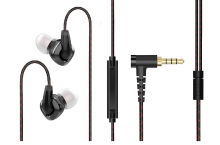 FIIO F3 Dynamic Driver In-Ear Monitor Earphones with Mic