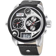 Weide Jam Tangan Pria Analog Digital Casual Chrono Waterproof 2305 - Hitam