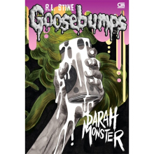 Goosebumps: Darah Monster (Monster Blood) Cover Baru - R.L Stine 9786020316987