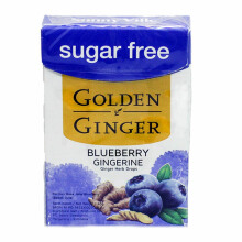 GOLDEN GINGER SF Flip Top Blueberry Gingerine 45g