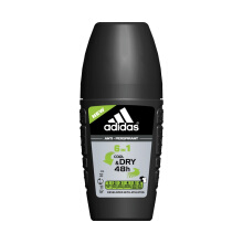 ADIDAS Cool & Dry 6in1 Roll On For Men 40ml