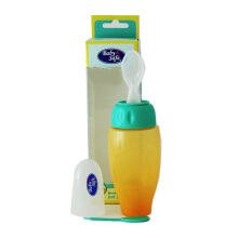 BABY SAFE Spoon Bottle - Orange/Green