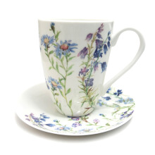 ST. JAMES Seasons Summer Continental / At Mug Set 2 Pcs - White