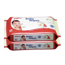 PIGEON Baby Wipes Chamomile Refill 82s Isi 2